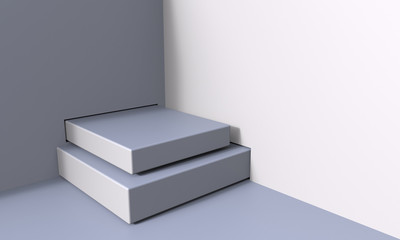stairs to success 3D illustration