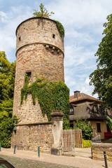 Fulda, der Hexenturm. 27.07.2019.