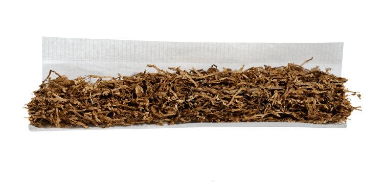 Tabak Zigarette drehen Feinschnitt Zigarettenpapier Drehtabak