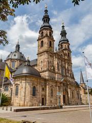 Fulda, der Dom (Dom St. Salvator zu Fulda) - Fulda Cathedral - 27.07.2019.