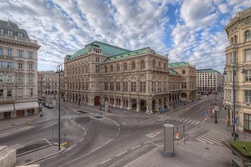 Fototapete - Vienna State Opera, Vienna, Austria.