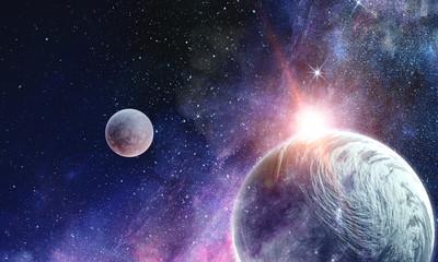 Fototapete - Beauty of galaxy