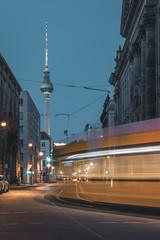 Fast Tram in Berlin