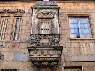 Détails d'arcitecture à Dijon.