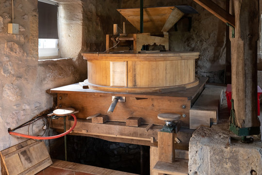 Traditional ancient water mill