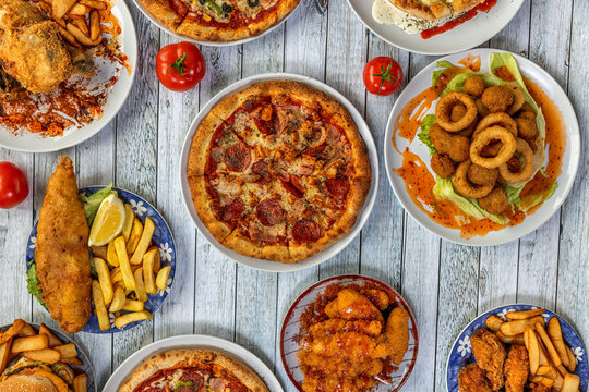 Take away food piozza