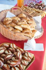 Photo sur Toile Buffet, Bar Buffet pour le petit déjeuner