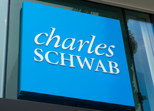 Charles Schwab Sign and Logo