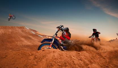 Motocross Fototapete