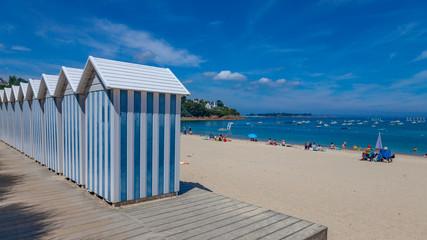 Cabanes de plage Fototapete