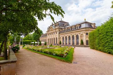 Fulda, die Orangerie im Schlossgarten. 27.07.2019.