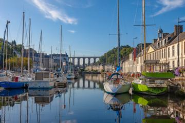 Port de Morlaix Fototapete