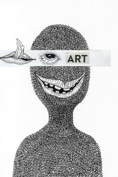 art,inspiration,imagination, creative, drawing, illustration, character, eyes, mouth, portrait, cool,