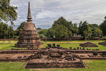 Ruins of Wat Ratchaburana