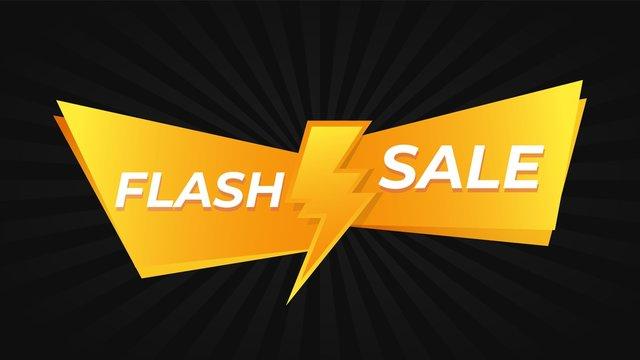 Flash sale promo offer