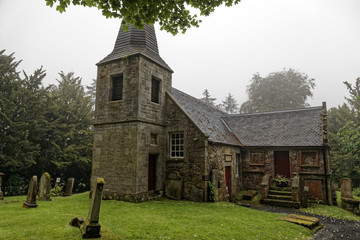 Glencorse house chapel - Edinburgh, Scotland, United Kingdom