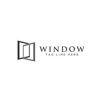 window logo, icon  design vector