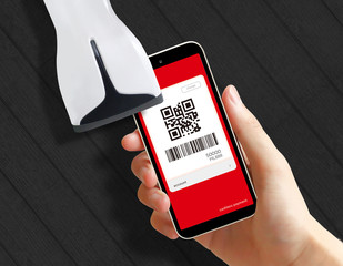 Bar code settlement&reader