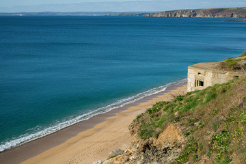 Cornwall Abandoned War Structure
