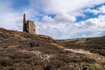 Cornwall Abandoned Engine House Ruin