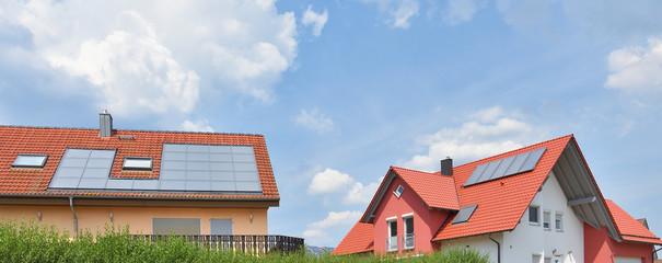 Modernes Wohnen mit Solaranlagen