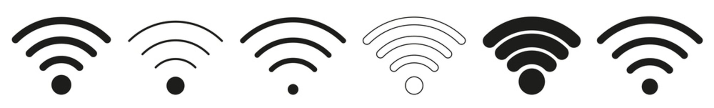 Wireless | Internet Connection | Signal Icon | Variations