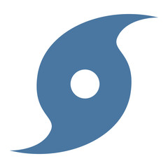 Hurricane symbol icon