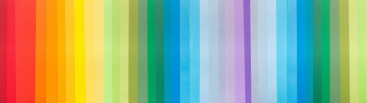Bright paper background with vertical lines of all shades