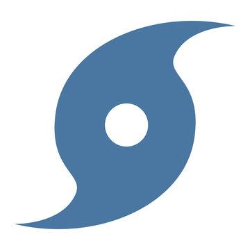 Hurricane symbol icon