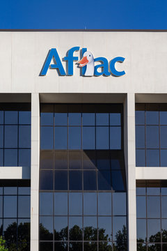 Aflac Insurance Corporate Facility and Trademark Logo