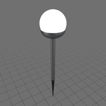 Solar sphere light