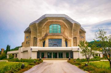 Das Goetheanum von Dornach in der Schweiz