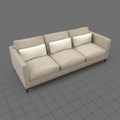 Modern three seater sofa 2