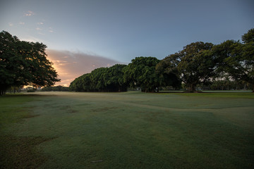 Coral Gables Country Club at sunrise
