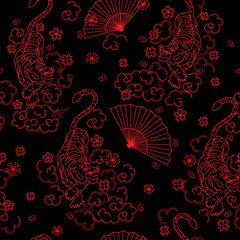japan pattern seamless design graphic
