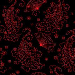 japan pattern seamless design graphic