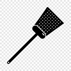 Swatter icon. Simple illustration of swatter vector icon for web