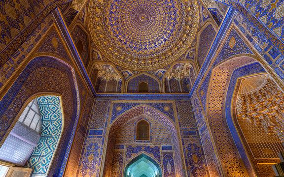 Interior view of Madrasa