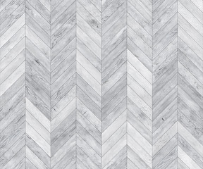 Obraz White chevron bleached seamless texture - fototapety do salonu