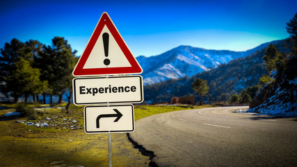Street Sign to Experience