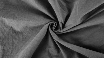 texture of cotton fabric, gray silk cloth background