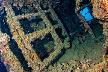 liberty Ship Wreck in bali indonesia indian ocean