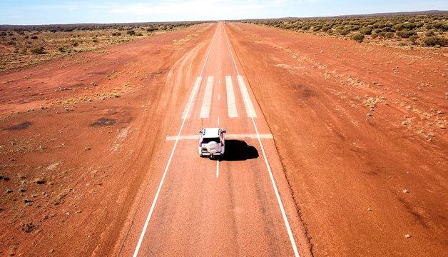 Emergency Landing Strip on Highway