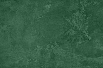Dark green Concrete textured background to your concept or product. Winter 2020 color trend. Fototapete