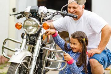 motorcycle repair family