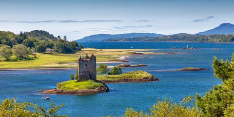 Stalker Castle, Scottish Highlands Fototapete
