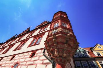 Bavarian City of Coburg in Franken, Germany in Europe