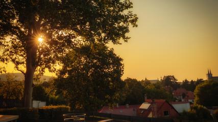 Bavarian City of Bamberg in Oberfranken, Germany in Europe
