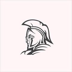 spartan design logo vector