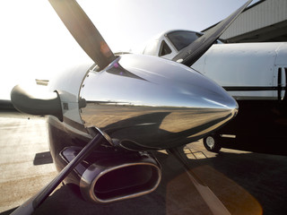 KING AIR C90GT Airplane Fototapete